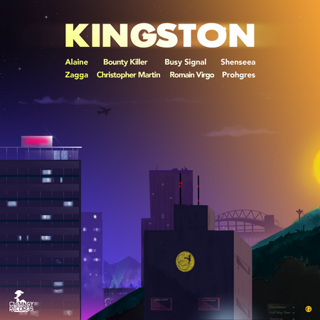 Kingston And St Andrew Riddim Full Promo - Chimney Records